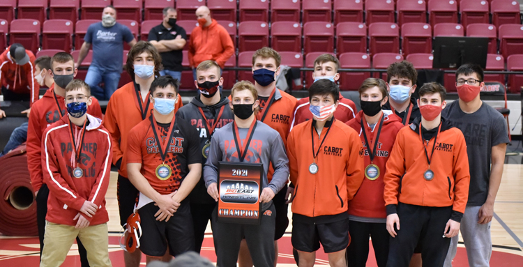 Wrestling Team Winners of Big East Conference Tournament
